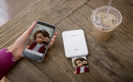 Itt van a Canon IVY Mini Photo Printer