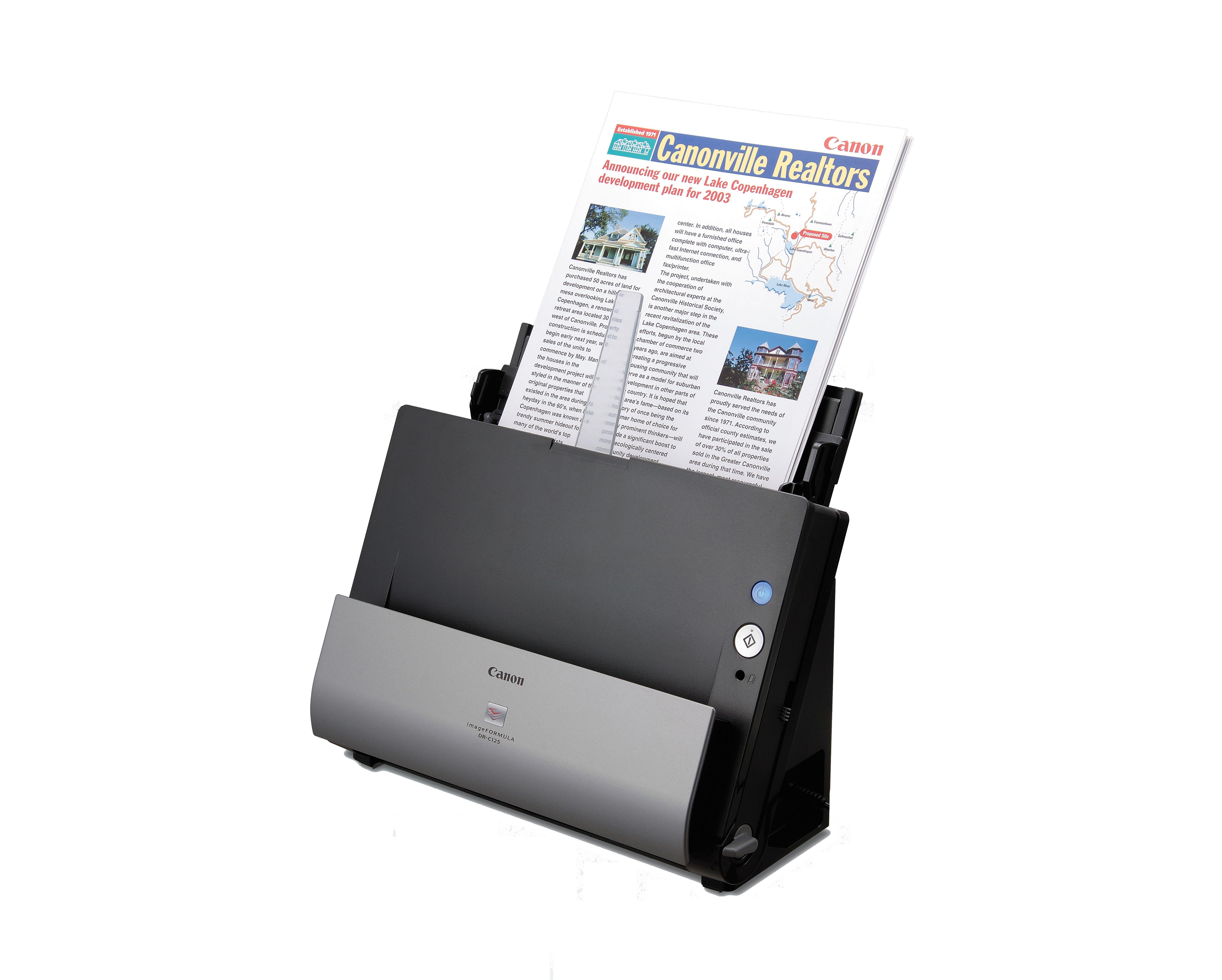 Ultrakompakt és stílusos: új asztali lapolvasó a Canontól